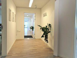 Fællesområde med hall